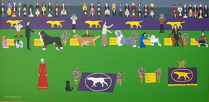 Westminster Dog Show by Susan Houghton Debus