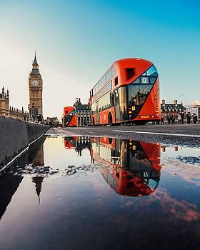Westminster Reflection by Milo Hale