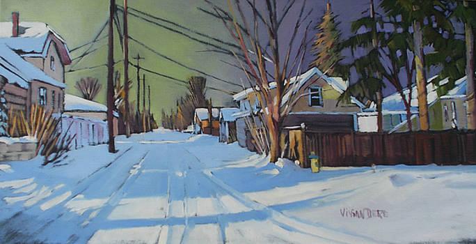 Westmount Alley by Vivian Dere