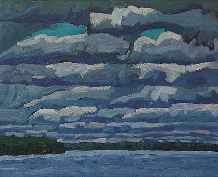 Westport Stratocumulus Virga by Phil Chadwick