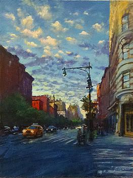 Westside Sunset No. 4 by Peter Salwen