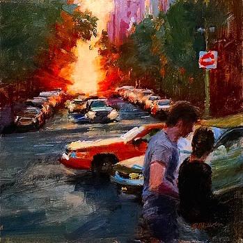 Westside Sunset No. 3 by Peter Salwen