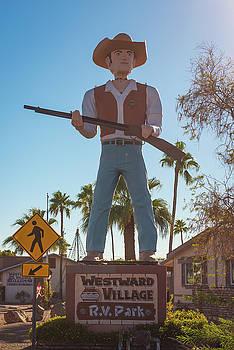 Westward Muffler Man by Wayne Stadler