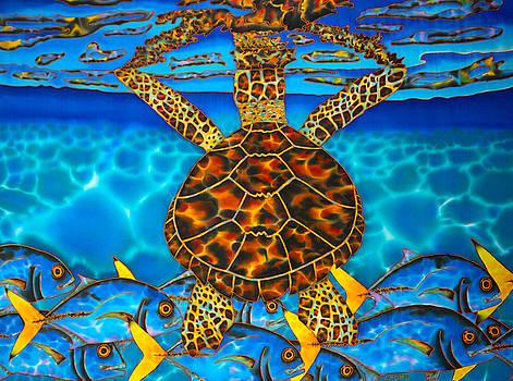 West Indian Hawksbill Sea Turtle by Daniel Jean-Baptiste