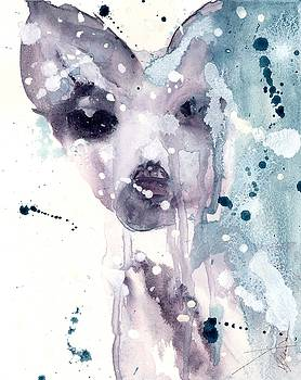 Wet Snow by Dawn Derman