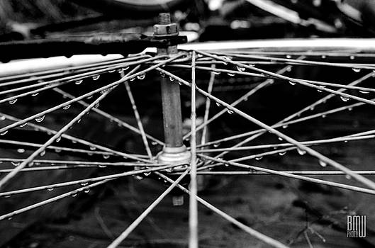 Wet Spokes by Benjamin Weilert