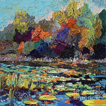 Ginette Callaway - Wetland Pond Modern Impressionism