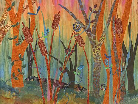 Wetlands Daybreak II by Julia Berkley