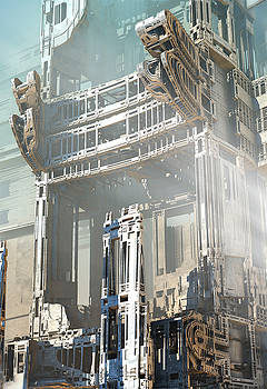 Weyland-Tyrell Concept Building by Hal Tenny