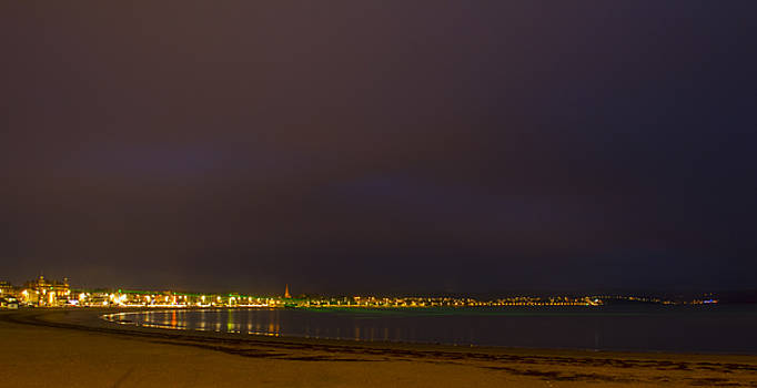 David French - Weymouth Bay Night