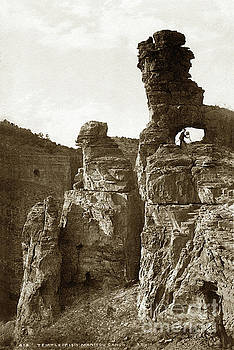 California Views Mr Pat Hathaway Archives - W. H. Jackson Portrait with Camera,Temple of Isis, Colorado Circa