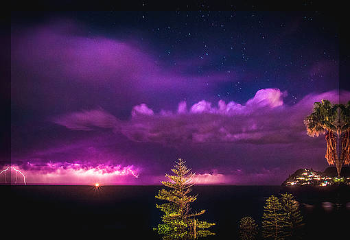 Whale Beach Storm by Chris Hood