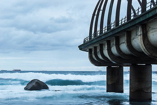 Whale Bone Pier by Jesse Coutts
