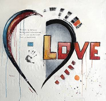 What is LOVE by Germaine Fine Art