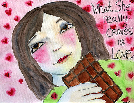 What She Really Craves is Love by AnaLisa Rutstein