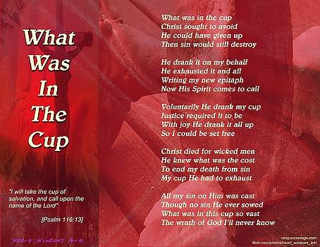 What Was In The Cup? by Kathleen Luther