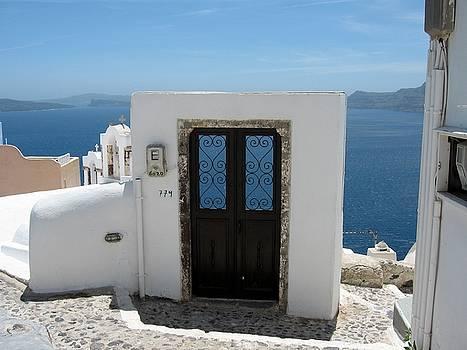 What's behind this door, I wonder by Yuri Hope
