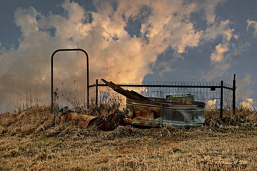 What's Left At Sundown by Kathy M Krause
