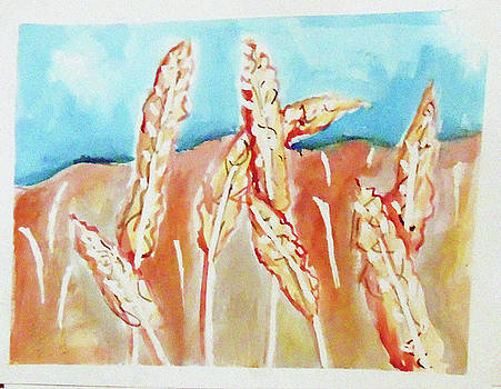 Wheat Field by Loretta Nash