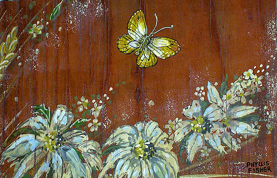 Wheat 'n' Wildflowers III by Phyllis Mae Richardson Fisher