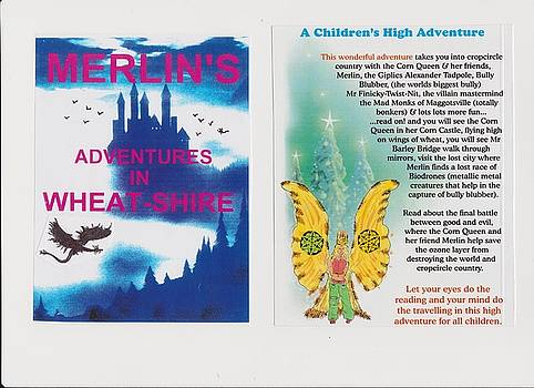 e BOOK WHEAT-SHIRE NOVEL tolkien style by MERLIN Vernon