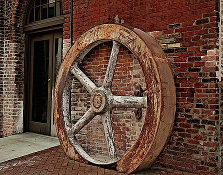 Wheel of Past by Cindy Adams