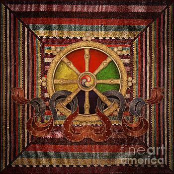 Wheel of the Dharma by Lita Kelley