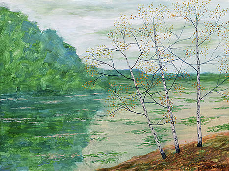 When Birches Cry by Eugene Kuperman