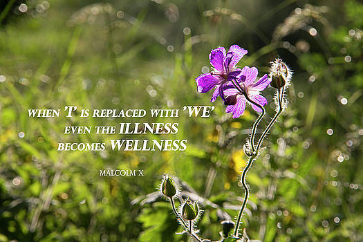 When 'I' replaced with 'We' by Agnieszka Ledwon