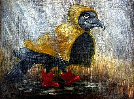 When it Rains, It Crows by Alexis Braud