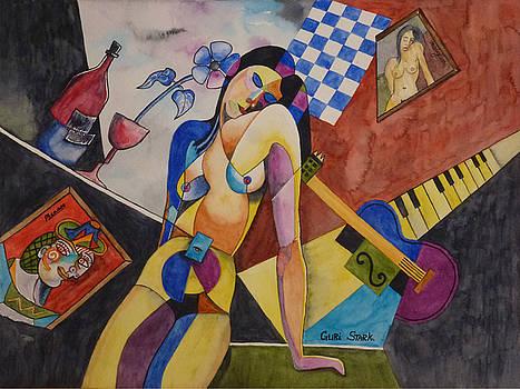 When Modigliani met Picasso by Guri Stark