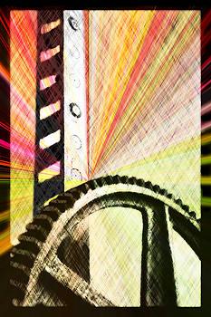 When Rack And Pinion Spark -- Zahnstangenfunkel by Arthur V Kuhrmeier