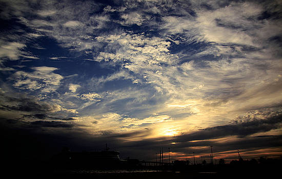 When The Sun Set by Vina Nurina Pranata