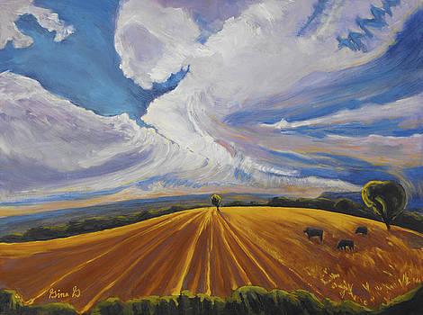 Where Earth Meets Sky by Gina Grundemann