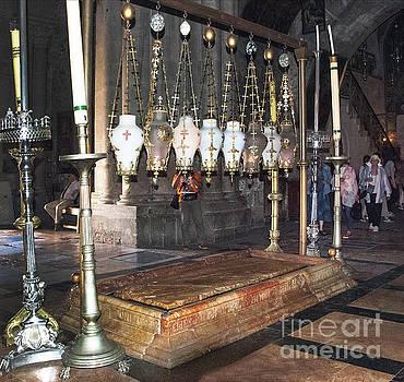 Where Jesus' Body was Prepared   by Mae Wertz