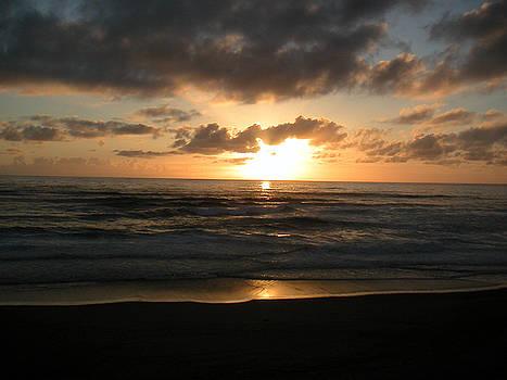 Where Sun and Ocean Meet by Tim Mattox