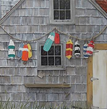 Where the Old Buoys Hang by Connie Rowsell