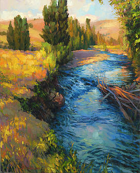 Where the River Bends by Steve Henderson