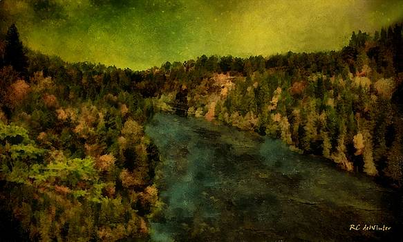 Where the River Ends by RC deWinter