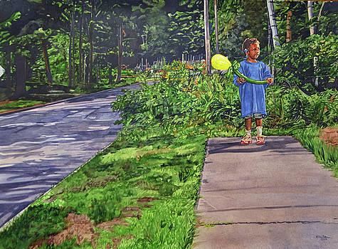 Where The Sidewalk Ends by Valerie Patterson