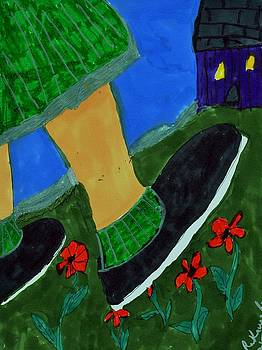 While Walking Home on St Patrick's Day by Elinor Helen Rakowski