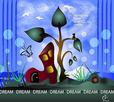 Whimsical Dreams by Micheleh Center