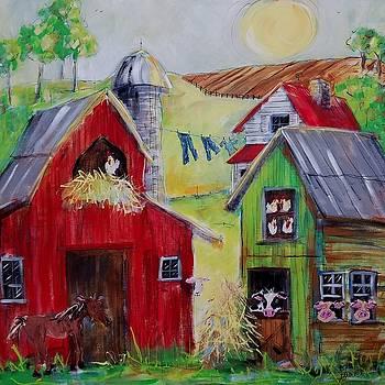 Whimsical Farm by Terri Einer