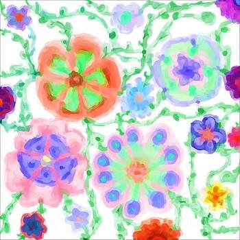 Whimsical Flower Dreams by Dee Winslow