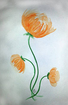 Whimsical Flowers by Susan Turner Soulis