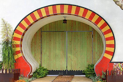 Art Block Collections - Whimsical Gate - Santa Barbara