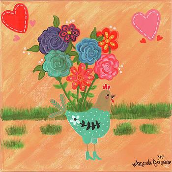 Henrietta the High Heeled Hen by Amanda Johnson