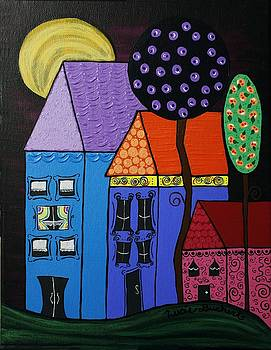 Lucie Buchert - Whimsical Houses