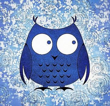 Whimsical Owl Art by Tina LeCour