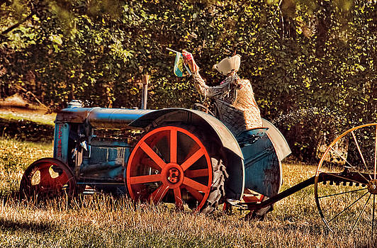 Whimsical Tractor Ride by Helen Worley